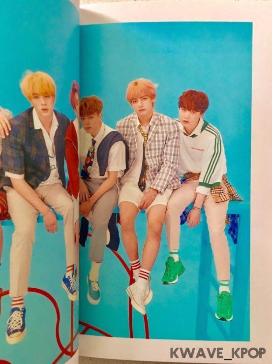 BTS [LOVE YOURSELF 結 'ANSWER'] VERSION F - 2 CD DISCS ALBUM + THE NOTE + STICKER (NO PHOTO CARD)