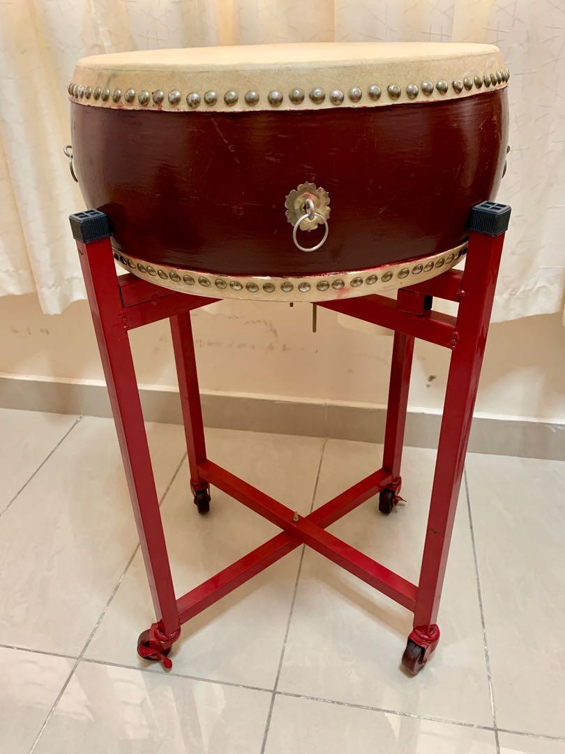 Chinese drum w stand