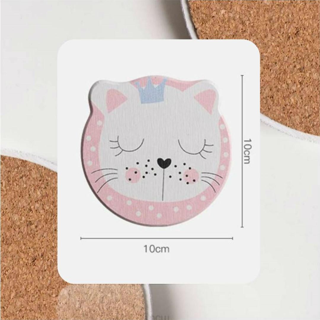 Cute Animal Coasters-Set of 2 | Diatomite | Japanese Style
