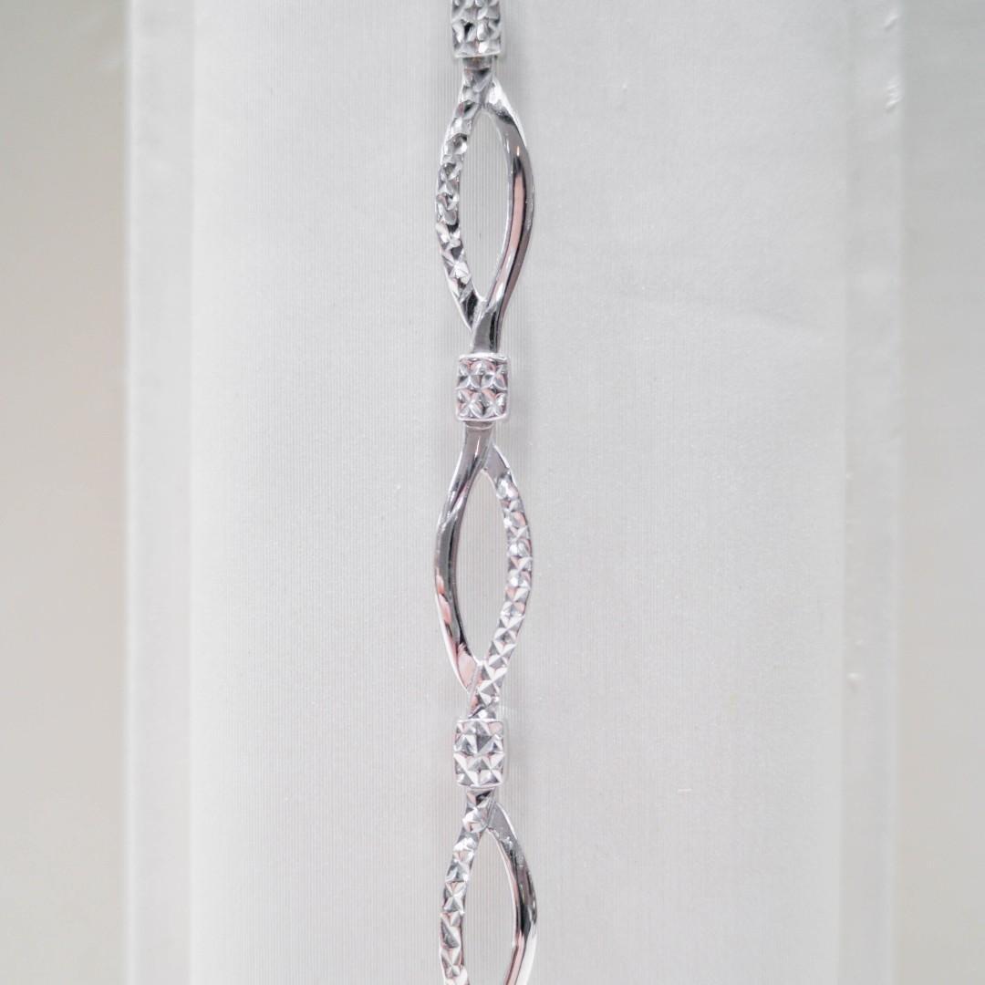 Embossed Chain Bracelet