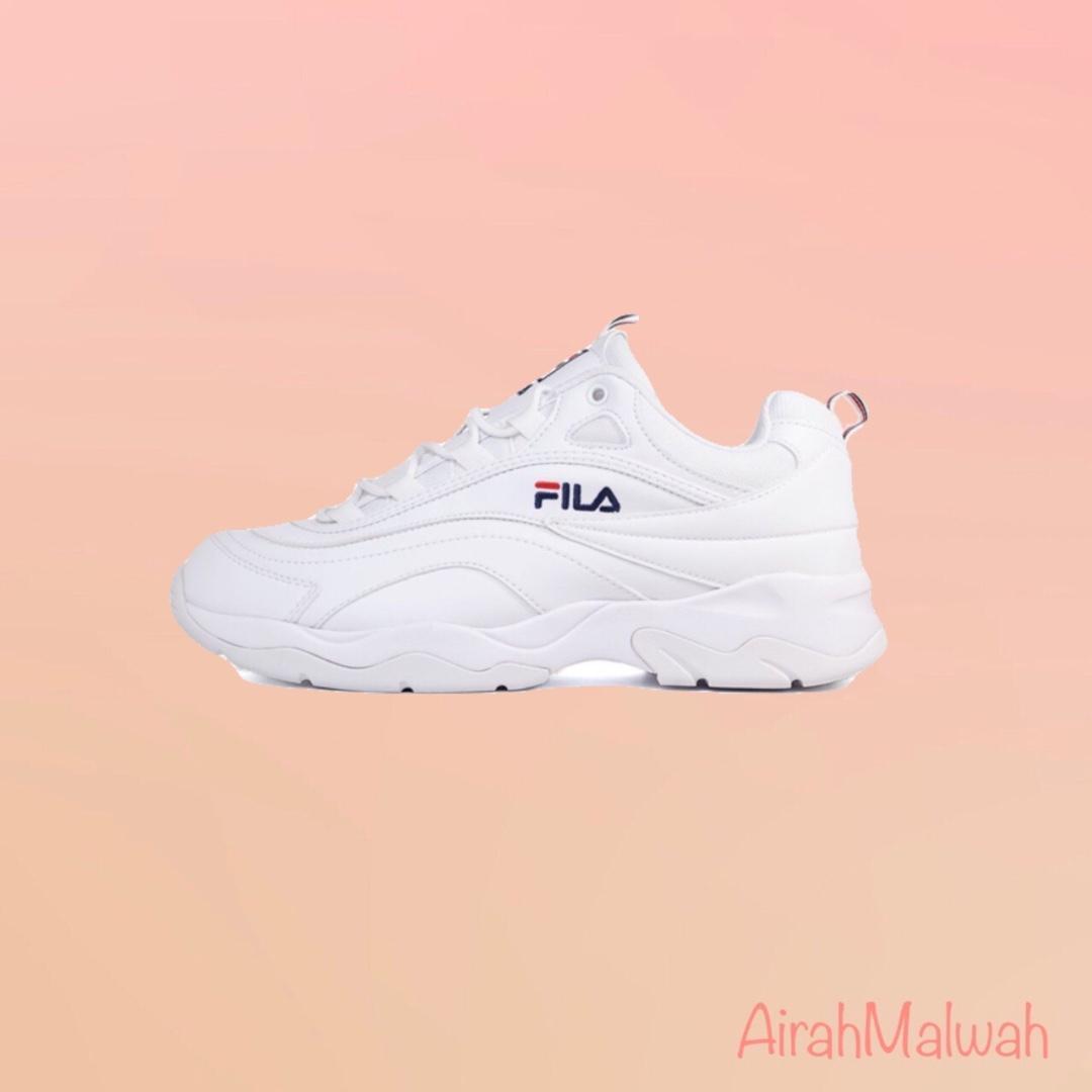 6a712784 Fila Women's Heritage Ray Women Sneakers, Women's Fashion, Shoes ...