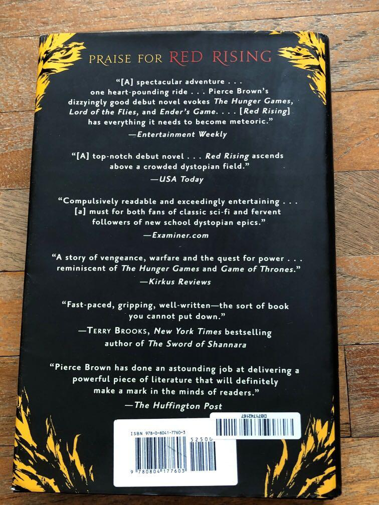 Golden Son by Pierce Brown (Hardcover)