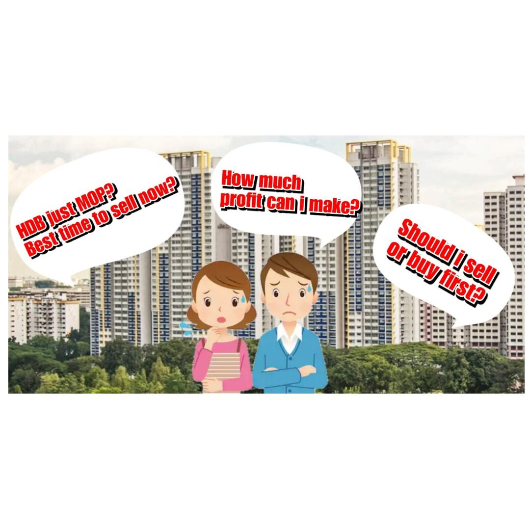 HDB MOP Soon! Sell or Buy First?