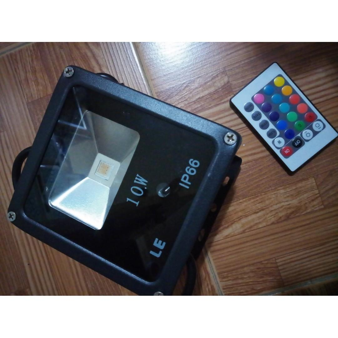 Ip66 Le Outdoor Led Flood Lights 10w Rgb 16 Color Changing