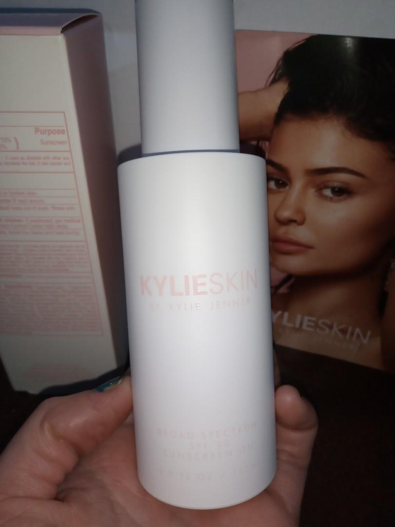 Kylie skin - broad spectrum spf 30 sunscreen oil 115ml