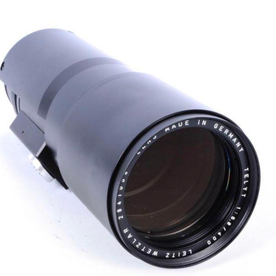 Leica Leitz Wetzlar Telyt 400mm F6.8