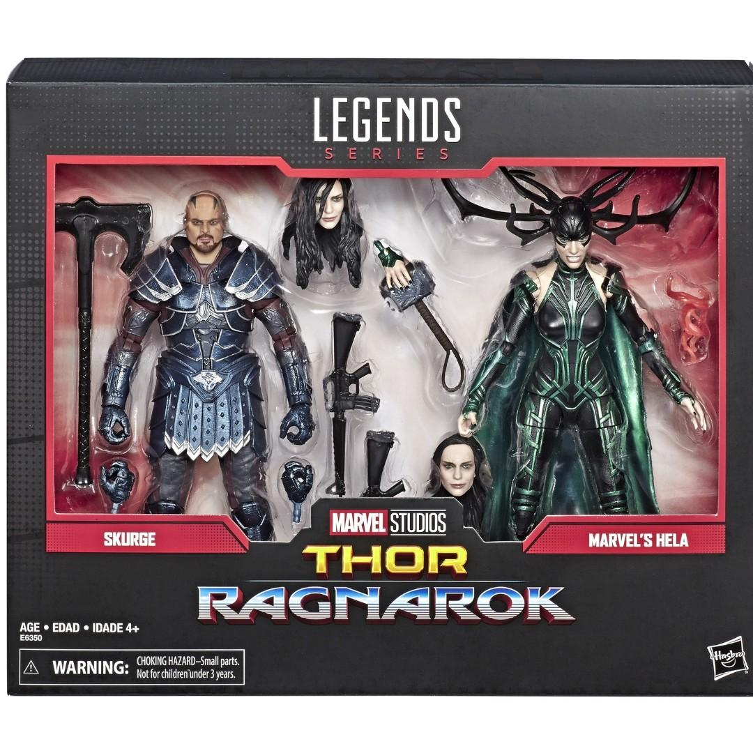 Marvel Legends - Skurge & Marvel's Hela 2 pack Figure