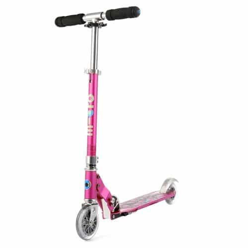 Micro Sprite Special Edition Scooter Raspberry Floral Dot