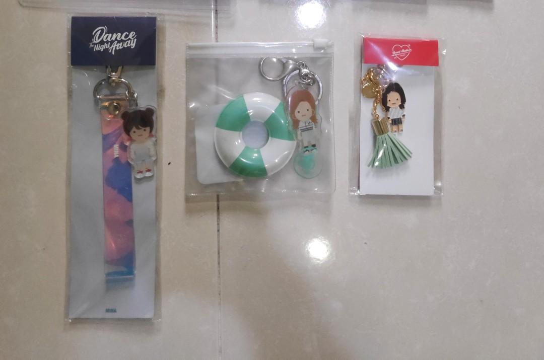 Mina Official Keychain