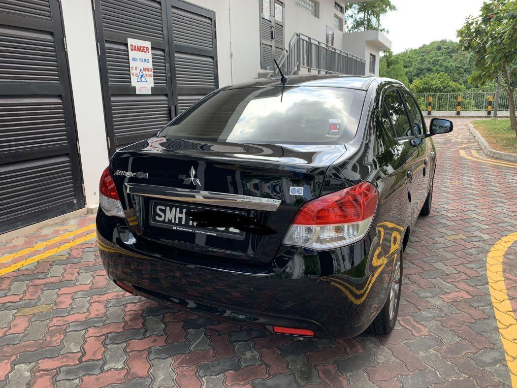 Mitsubishi Attrage 1.2 Elegance CVT (A)