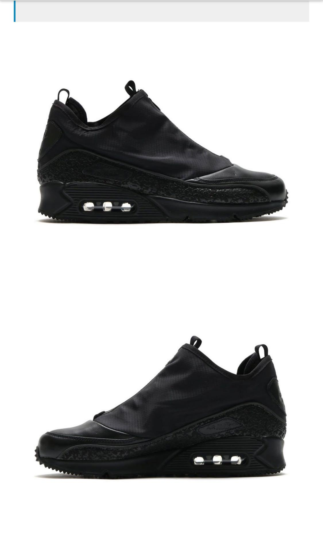 "Details about Men's Nike Air Max 90 Ultra BR ""Triple Black"" Size UK7 EU41 ••Bargain••"