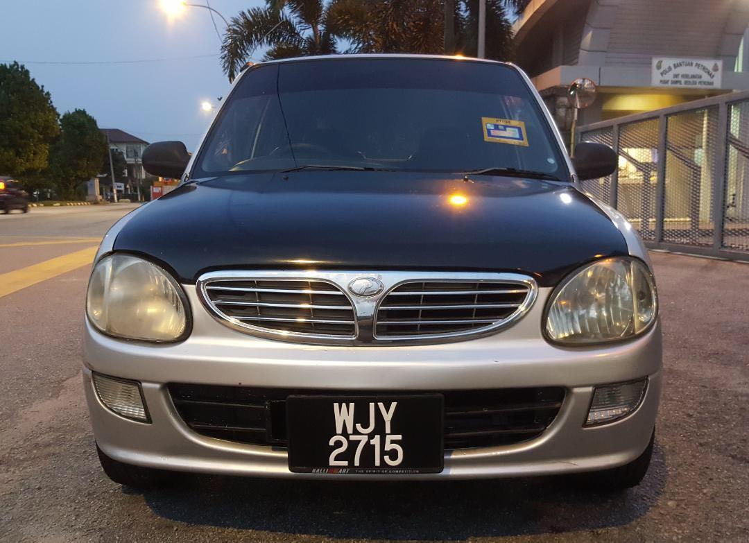 Perodua Kelisa 1.0 GXL limited edition 2002 Manual