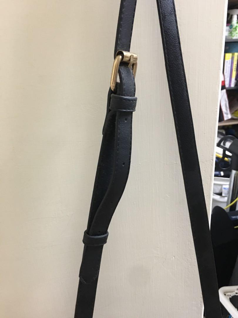Pg 黑色 側背包