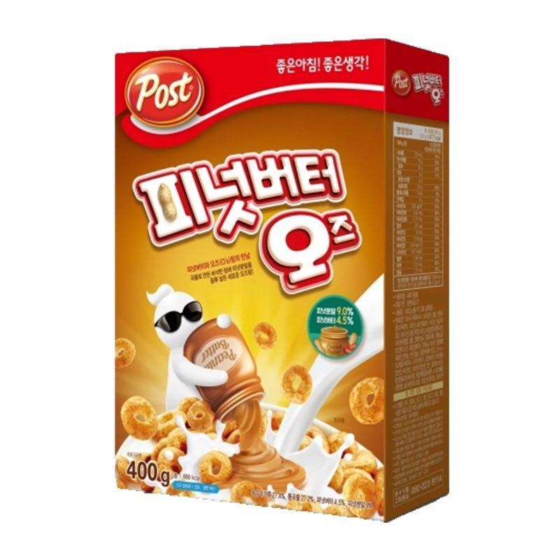 Post Oreo O Peanut Butter 400G from Korea