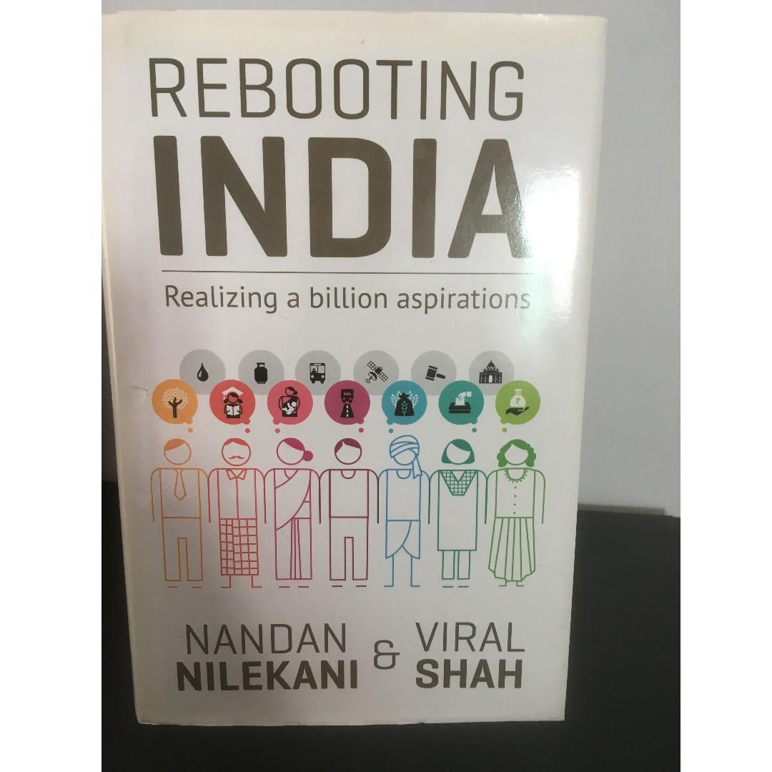 Rebooting India: Realizing a Billion Aspirations - Hardcover