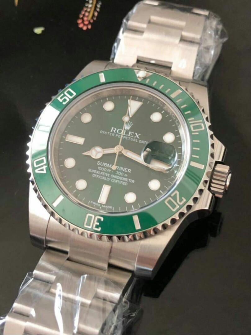 Rolex Rolex Submersible Green Water Ghost 116610LV