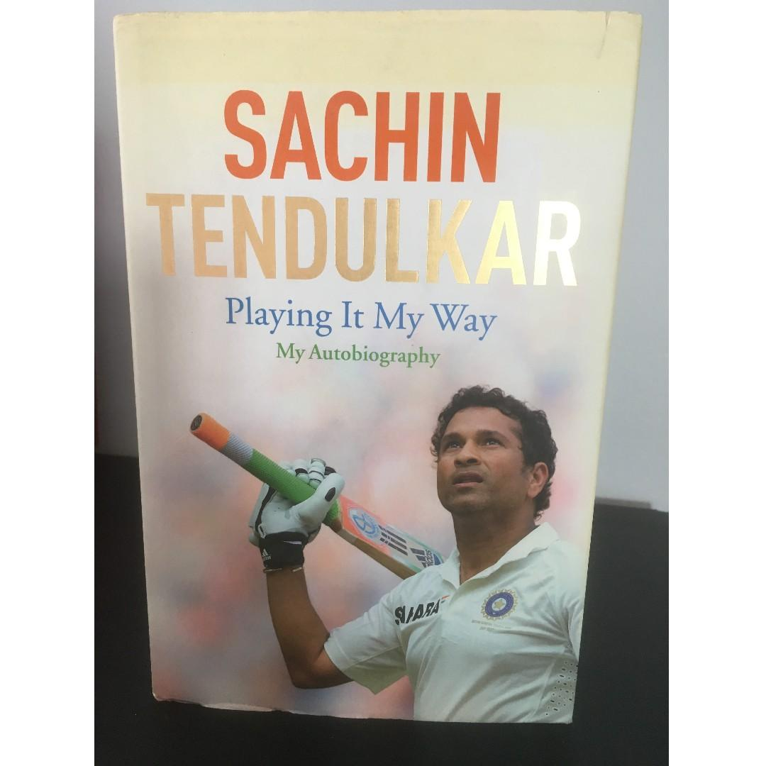 Sachin Tendulkar- Playing It My Way: My Autobiography- Hardcover