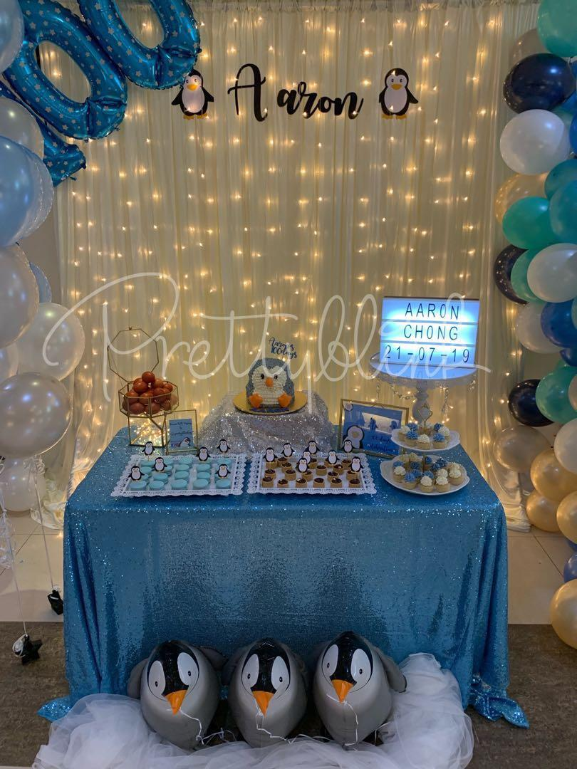 [SETUP] Desserts Table for Birthday/ Baby Shower 🎉💕✨🎈