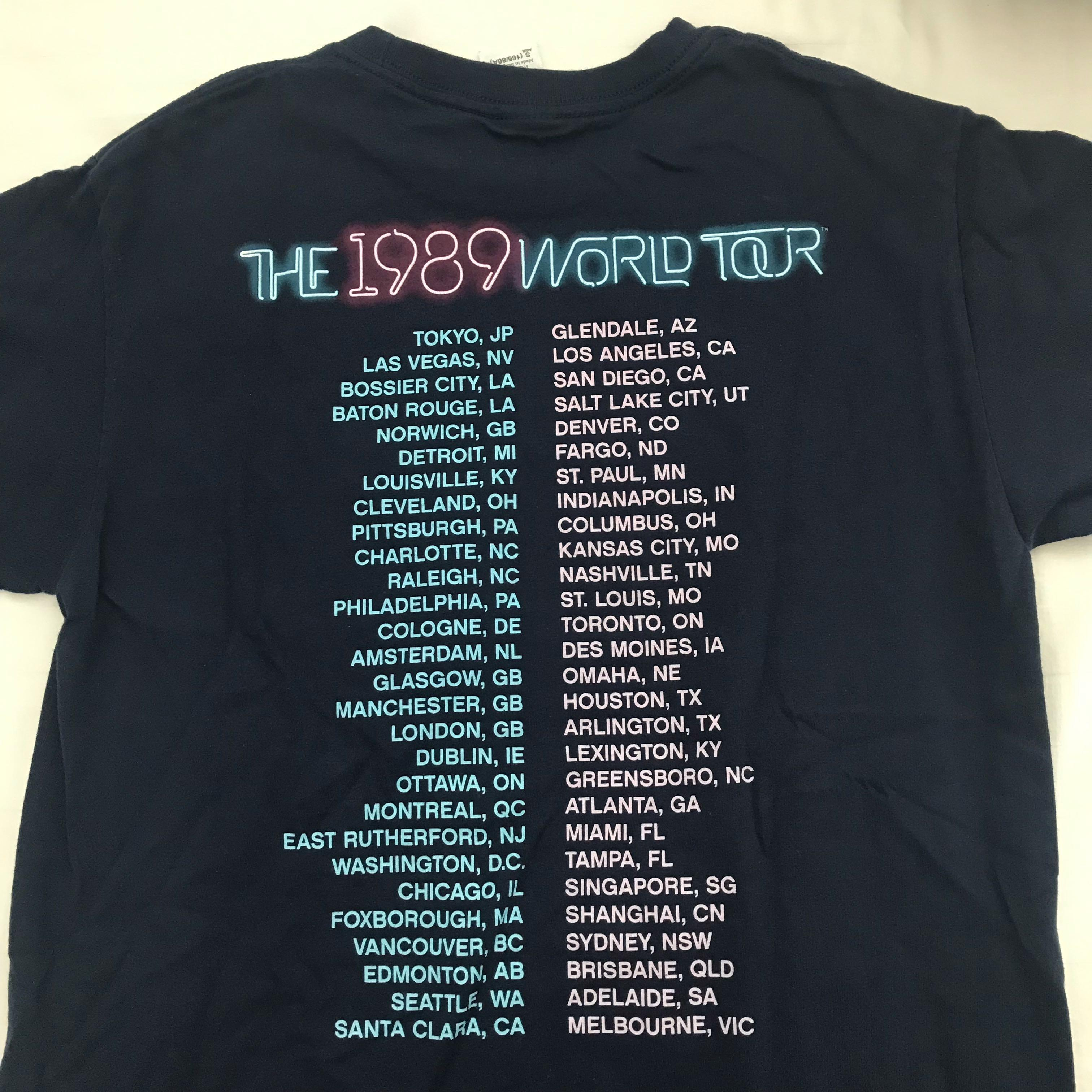 Taylor Swift 1989 World Tour Merch Women S Fashion Clothes Tops On Carousell