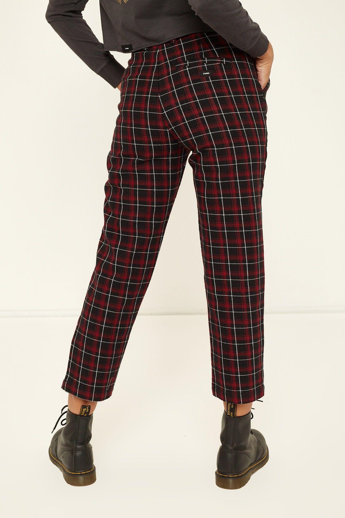 THRILLS Tartan Mom Pants