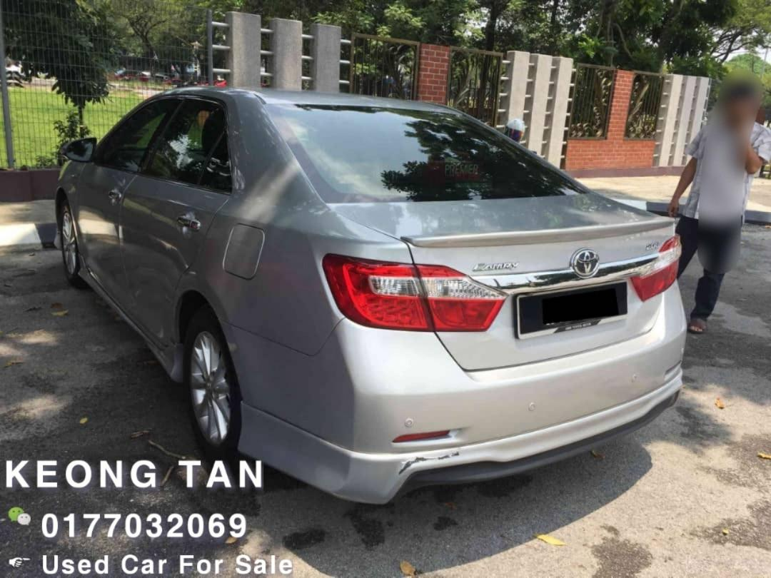 TOYOTA CAMRY 2.0AT G SPEC 2013TH PushStart/Keyless🎉Low MILEAGE Cash💰OfferPrice💲Rm72,800 Only‼LowestPrice InTown🎉Call📲 Keong For More🤗
