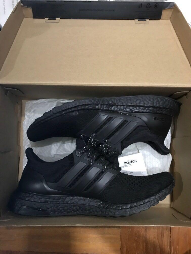 Adidas Ultraboost triple black 1.0