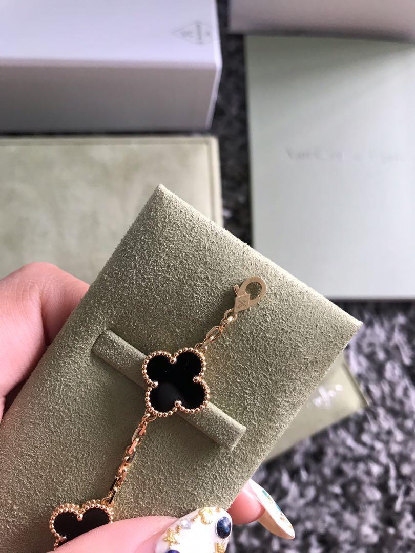 Van Cleef & Arpels Vintage Alhambra bracelet, 5 motifs