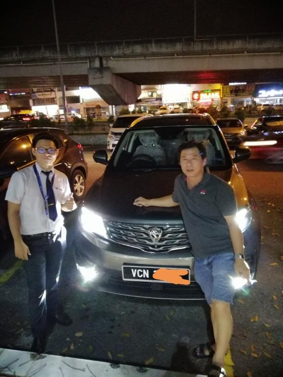 X70 only 1week can get the car fast approve discount kuat kuat