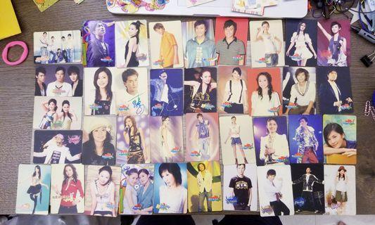 復古無極限2005年2006年yes卡香港台灣九十90年代明星青春少男少女偶像組合天王