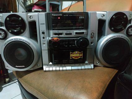 Radio tape panasonic