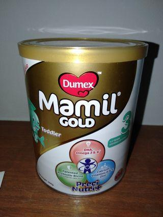 Dumex Mamil Gold Stage 3 400gm can