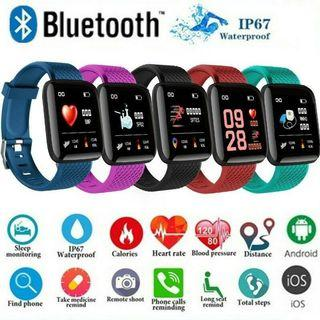 ORIGINAL 116 PLUS Health Monitoring Sport Watch Smart Fitness Tracker
