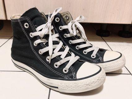 Converse基本款高筒帆布鞋