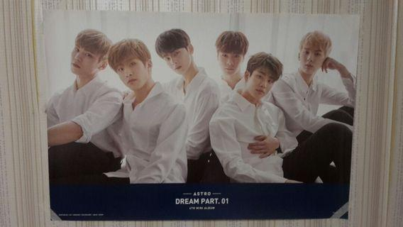 [WTS][KPOP] ASTRO DREAM PART.01 POSTER