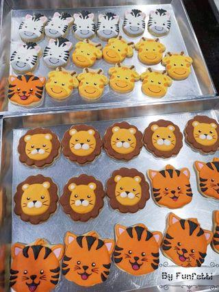 🚚 Animal Icing Cookies