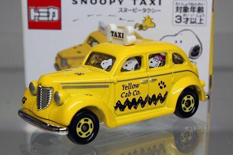 [全新現貨]USJ日本Tomica大阪環球影城車仔特別版限量版季節限定snoopy taxi史諾比史奴比小路比peanuts玩具車仔擺設收藏品