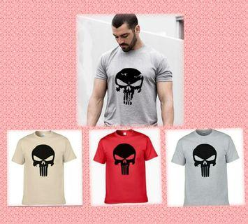 "Punisher 100% cotton Tshirt ""Gildan"" brand"