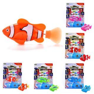NEW Fashion Swimming Robofish Activated Battery Powered Robo Fish Toy Robotic Fish