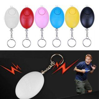 NEW Self Defense Keychain Personal Alarm Emergency Siren Song Survival Whistle