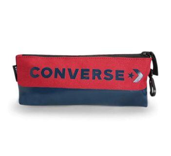 Converse Speed Supply Case Enamel Pouch Pria - Red Navy