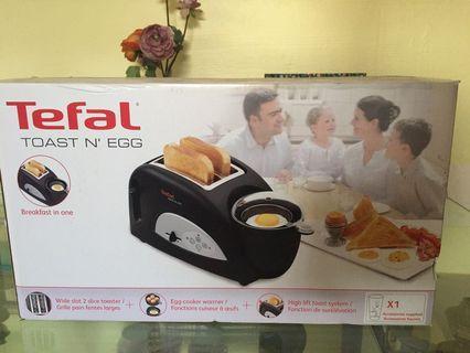 Tefal toaster  n' egg