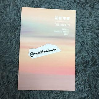 WTS BTS HYYH NOTEBOOK