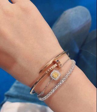 鑽石手鍊 鑽石耳環 鑽石項鍊