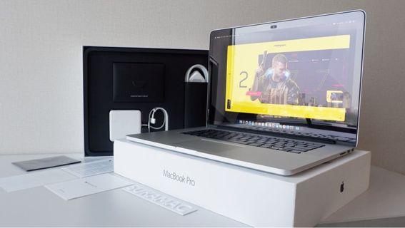 MacBook Pro Retina 15 inch MJLQ2 Mid 2015 Fullset