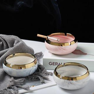 Ceramic Marble Cigarette Ashtray