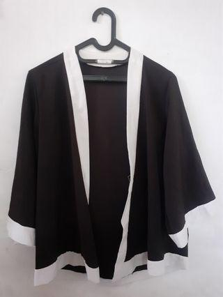 #HBDCAROUSELL #LALAMOVECAROUSELL Outer Black Cardigan