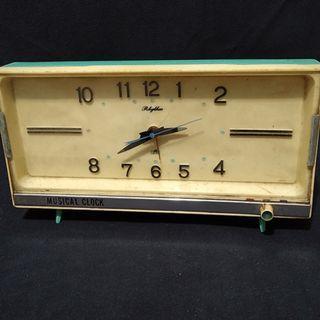 日本機械老發條音樂鐘