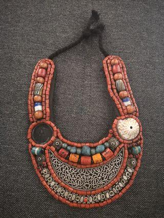 Handmade necklace (Morocco)