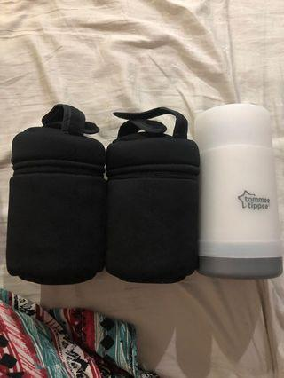 TT Flask and Travel Bag