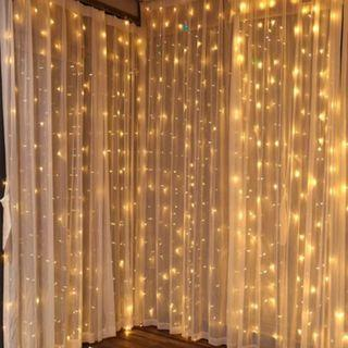 Battery Operated 3 Meter x 2 Meter Curtain Lights
